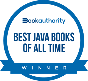 Award Best Java books of all time by BookAuthority